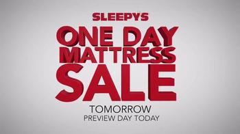 Sleepy's One Day Mattress Sale TV Spot, 'Mattress Sets and Boxspring' - Thumbnail 4