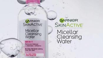 Garnier SkinActive Micellar Cleansing Water TV Spot, 'A Different Way' - Thumbnail 3
