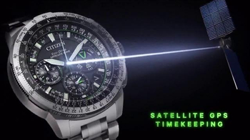 Citizen Watch Promaster Navihawk GPS TV Spot, 'Be Bold'