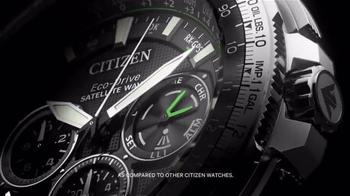 Citizen Watch Promaster Navihawk GPS TV Spot, 'Be Bold' - Thumbnail 5