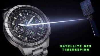 Citizen Watch Promaster Navihawk GPS TV Spot, 'Be Bold'