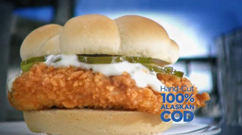 Long John Silver's Coastal Cod Sandwich TV Spot, 'A Real Fish Sandwich' - Thumbnail 2