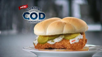 Long John Silver's Coastal Cod Sandwich TV Spot, 'A Real Fish Sandwich' - Thumbnail 4
