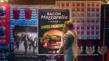Wendy's Bacon Mozzarella Burger TV Spot, 'The Bacon Mozzarella Experience' - Thumbnail 6