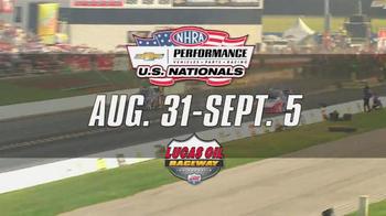 NHRA TV Spot, '2016 Performance US Nationals' - Thumbnail 6