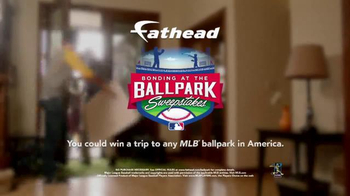 Fathead TV Spot, 'Bonding at the Ballpark' - Thumbnail 7