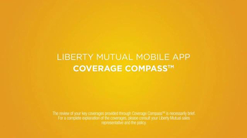 Liberty Mutual Mobile App TV Spot, 'Coverage Compass' - Thumbnail 2