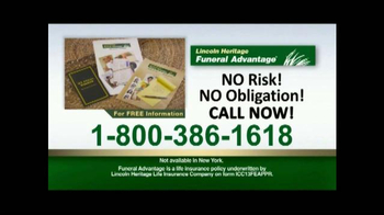 Lincoln Heritage Funeral Advantage TV Spot, 'Financial Protection' - Thumbnail 7