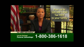 Lincoln Heritage Funeral Advantage TV Spot, 'Financial Protection' - Thumbnail 4