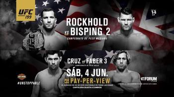 Time Warner Cable TV Spot, 'UFC 199: Rockhold vs. Bisping 2' [Spanish]