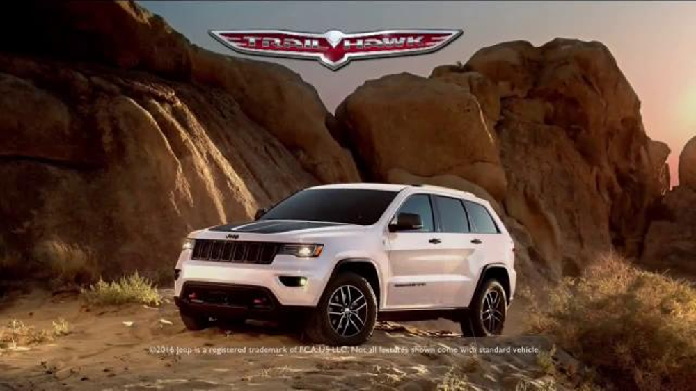 2017 Jeep Grand Cherokee Trailhawk TV Commercial ...