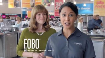 h.h. gregg TV Spot, 'FOBO' - 50 commercial airings