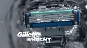 Gillette Mach3 Turbo TV Spot, 'Ten Shaves: Shave Club' Song by Underworld - 3931 commercial airings
