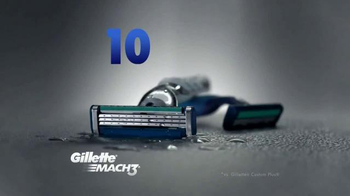 Gillette Mach3 Turbo TV Spot, 'Ten Shaves: Shave Club' Song by Underworld - Thumbnail 4
