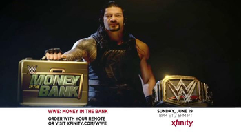 XFINITY Pay-Per-View TV Spot, \'WWE: Money in the Bank\'