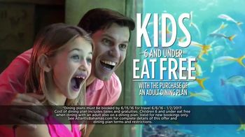 Atlantis Summer Mega Sale TV Spot, 'Dining Plans and Cartoons'