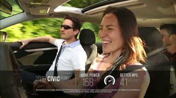 Honda One Tank Trips Sweepstakes TV Spot, 'Alderbrook Lodge: 2016 Civic' - Thumbnail 5