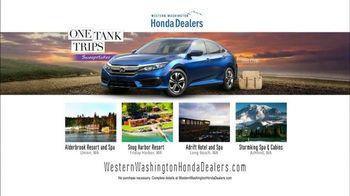 Honda One Tank Trips Sweepstakes TV Spot, 'Alderbrook Lodge: 2016 Civic' - Thumbnail 9