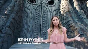 Universal Orlando Resort TV Spot, 'Skull Island: Gates' Feat. Erin Ryder - 1 commercial airings