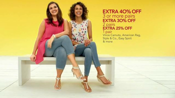 Macy's Summer Sale TV Spot, 'Tees, Swim and Shoes'