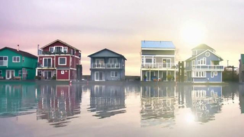 BEHR PREMIUM Stains and Finishes TV Spot, 'Houseboat'