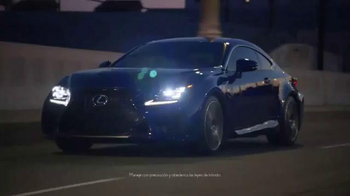 Lexus RC F Coupe TV Spot, 'Máquinas poderosas' [Spanish] - Thumbnail 7