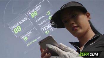 Zepp Golf 2 TV Spot, 'Golf Channel: Start Training' Featuring Michelle Wie - Thumbnail 7