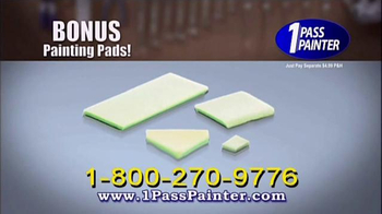 1-Pass Painter TV Spot, 'Without the Mess' - Thumbnail 6