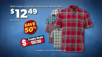 Bass Pro Shops Father's Day Sale TV Spot, 'Mini Suspension Tool and Shirts' - Thumbnail 5