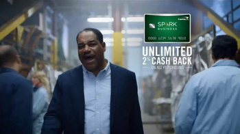 Capital One Spark Business Card TV Spot, 'Pyrophobic Fabric' - Thumbnail 4