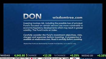 WisdomTree TV Spot, 'DON: Mid Cap Dividend Fund' - Thumbnail 5