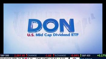 WisdomTree TV Spot, 'DON: Mid Cap Dividend Fund' - Thumbnail 3