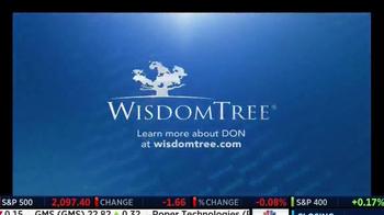 WisdomTree TV Spot, 'DON: Mid Cap Dividend Fund' - Thumbnail 4