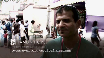 Joyce Meyer Ministries TV Spot, 'Hand of Hope: Dr. Raj Patel' - Thumbnail 9