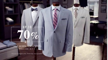 JoS. A. Bank Buy More, Save More Sale TV Spot, 'Suits and Sportcoats' - Thumbnail 4