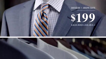 JoS. A. Bank Buy More, Save More Sale TV Spot, 'Suits and Sportcoats' - Thumbnail 5
