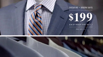 JoS. A. Bank Buy More, Save More Sale TV Spot, 'Suits and Sportcoats' - Thumbnail 6