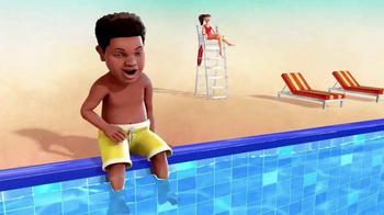 Nationwide Insurance TV Spot, 'Nickelodeon: Pool' Ft. Benjamin Flores Jr. - Thumbnail 1