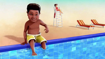 Nationwide Insurance TV Spot, 'Nickelodeon: Pool' Ft. Benjamin Flores Jr. - Thumbnail 2