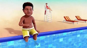 Nationwide Insurance TV Spot, 'Nickelodeon: Pool' Ft. Benjamin Flores Jr. - Thumbnail 3