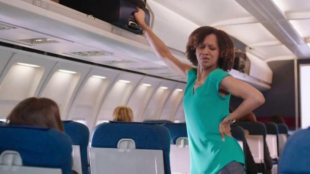 Aspercreme Lidocaine Patch TV Commercial, 'Airplane'