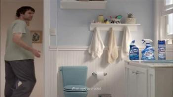 Lysol Power TV Spot, 'Toilet Germs' - Thumbnail 10