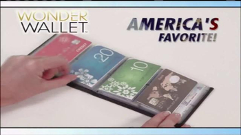 Wonder Wallet TV Spot, 'America's Favorite Wallet'