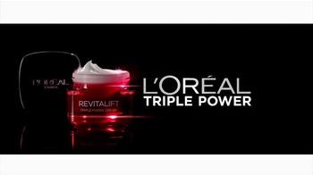 L'Oreal Paris Revitalift Triple Power TV Spot, 'Rave Reviews' - Thumbnail 2