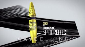Maybelline New York Colossal Spider Effect TV Spot, 'Trending Now' - Thumbnail 4