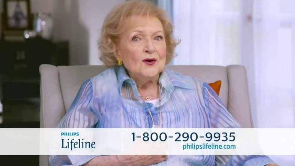 Philips Lifeline TV Commercial, 'Live With Confidence' Featuring Betty White