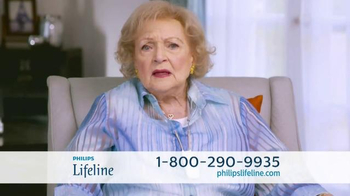 Philips Lifeline TV Spot, 'Live With Confidence' Featuring Betty White - Thumbnail 3