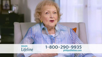 Philips Lifeline TV Spot, 'Live With Confidence' Featuring Betty White