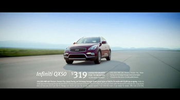 2016 Infiniti QX50 TV Spot, 'Showcase' Song by Bloc Party - Thumbnail 8