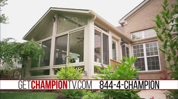 Champion Windows TV Spot, 'Best of the Outdoors' - Thumbnail 1